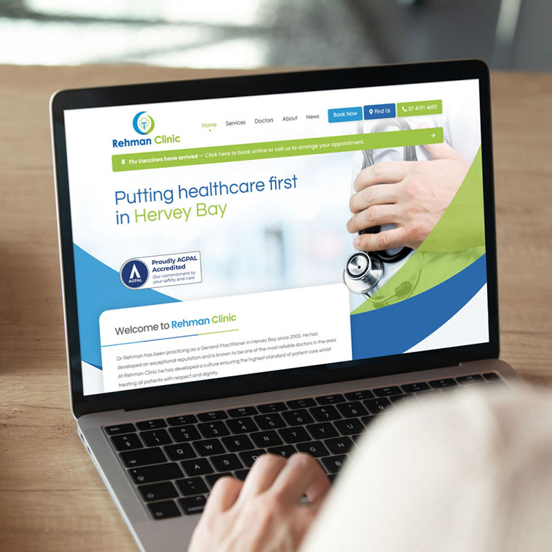Medical Website Development