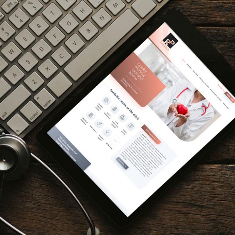 GP Health Hackham, SA Website