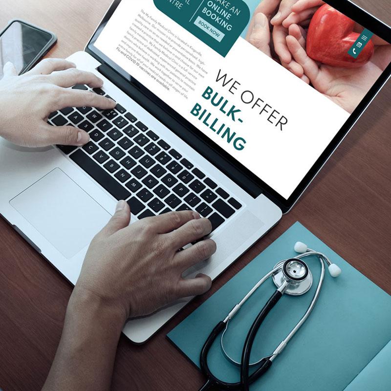 My Family Medical, Kingsville Website Development
